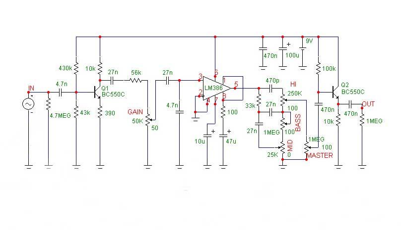Посоветуйте Схему Distortion На Двух 6Н2П - Гитарное оборудование.